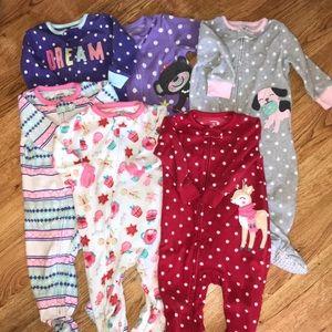 Carter's Fleece Pajamas | 12 month